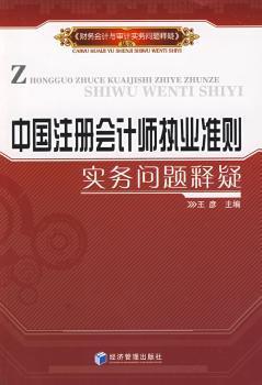 中国注册会计师执业准则实务问题释疑